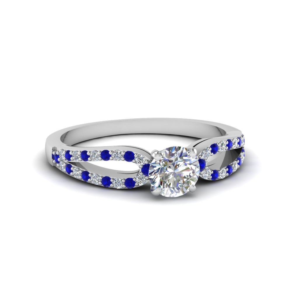 Loop Sapphire Promise Ring