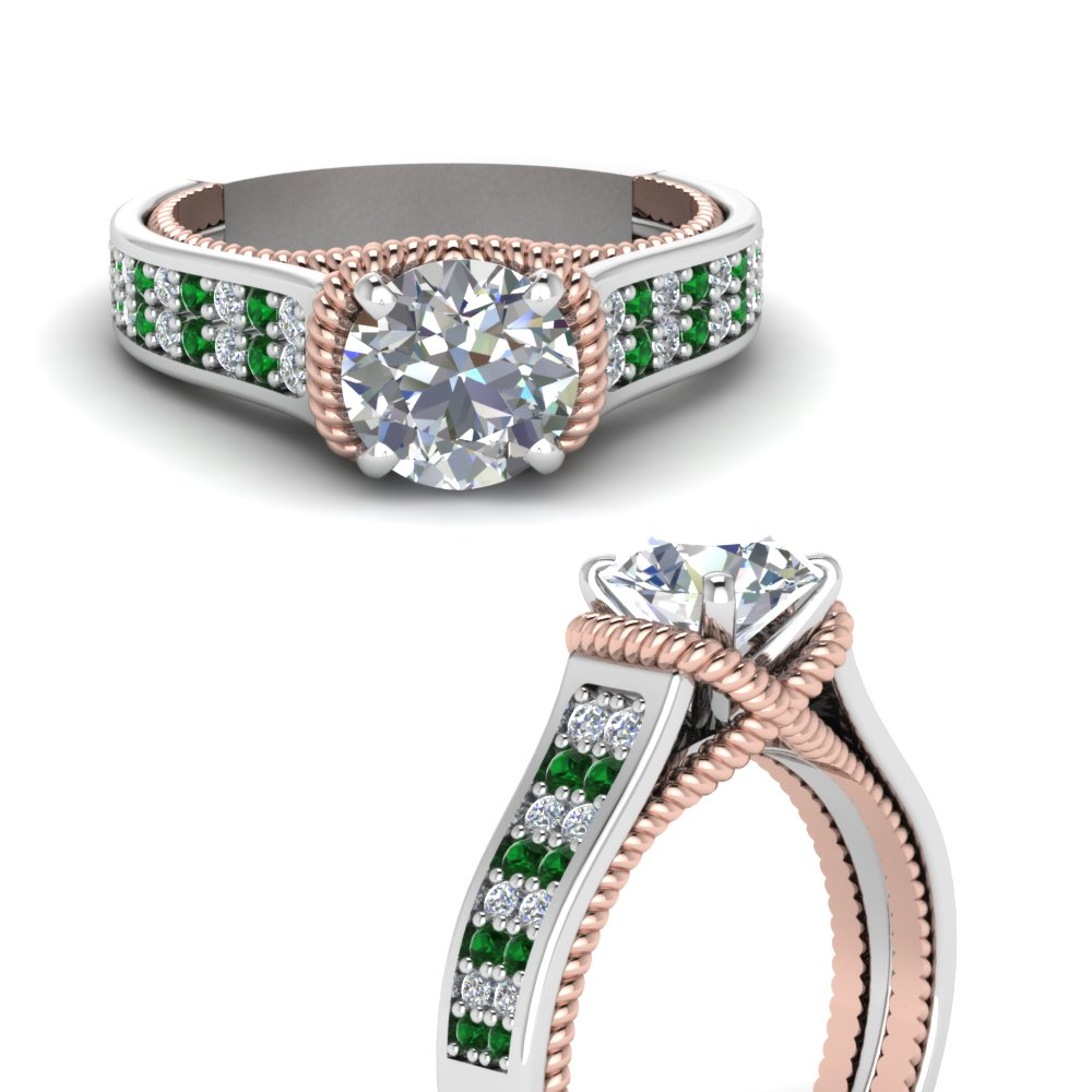 multi-row-2-tone-diamond-engagement-ring-with-emerald-in-FDENR9508RORGEMGRANGLE3-NL-WG
