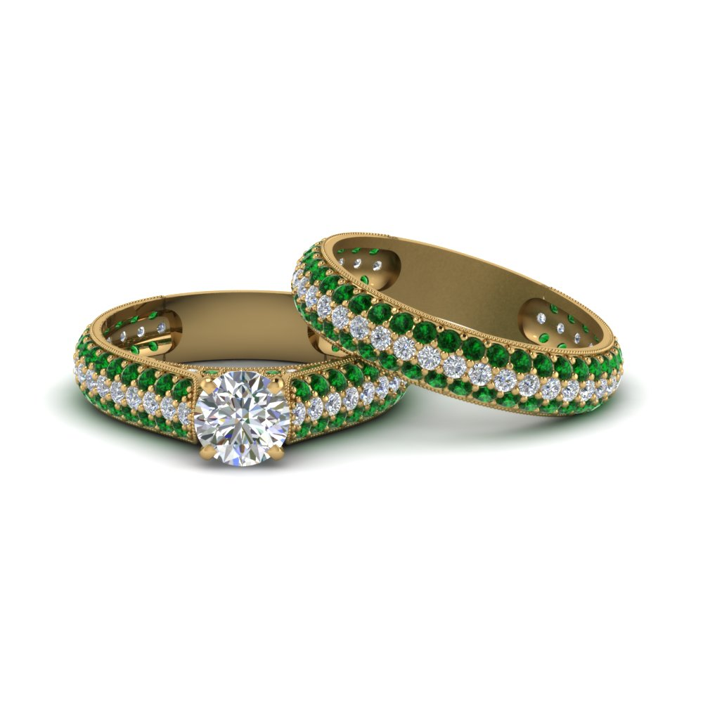 Emerald Wedding Sets