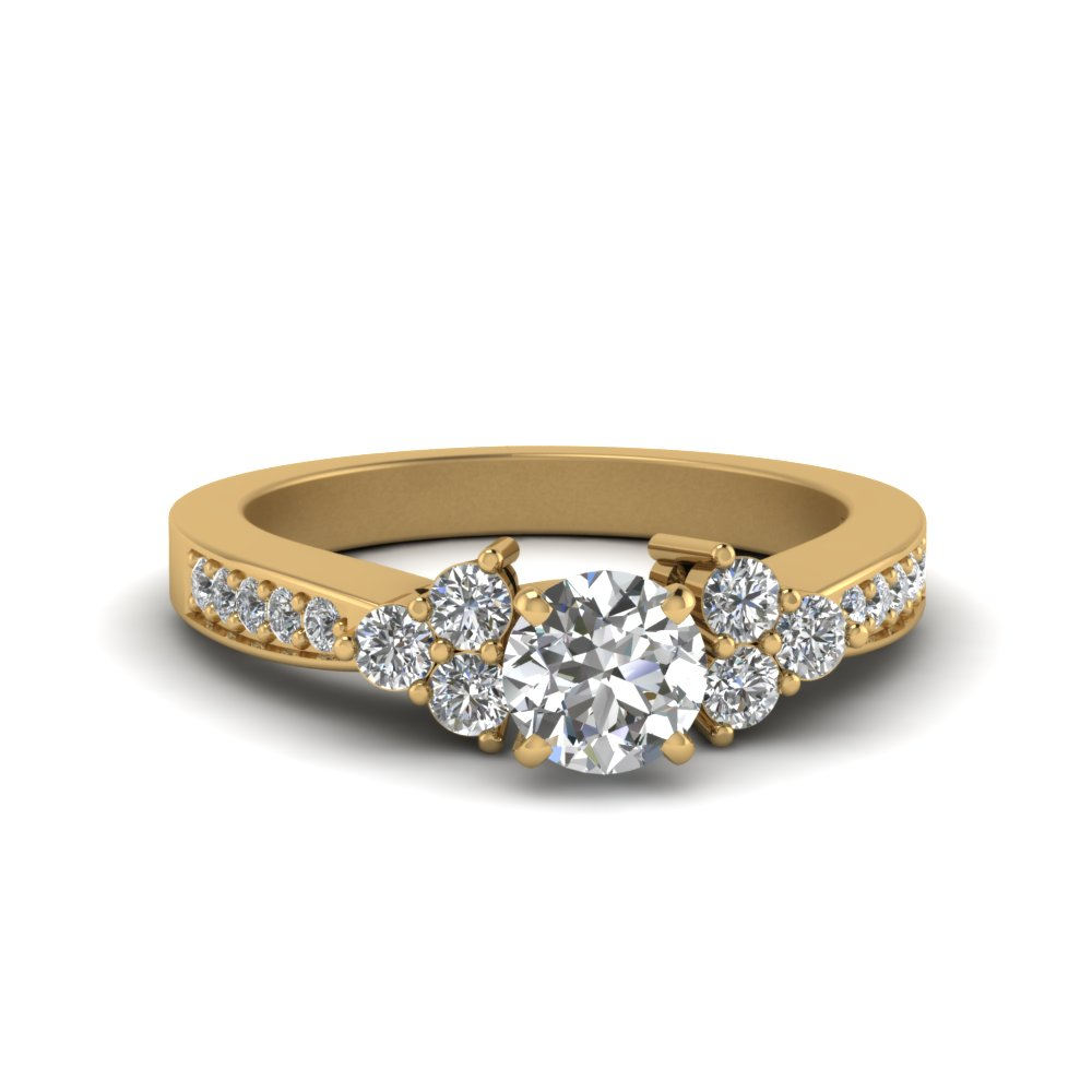 Round Cut Petite Engagement Rings