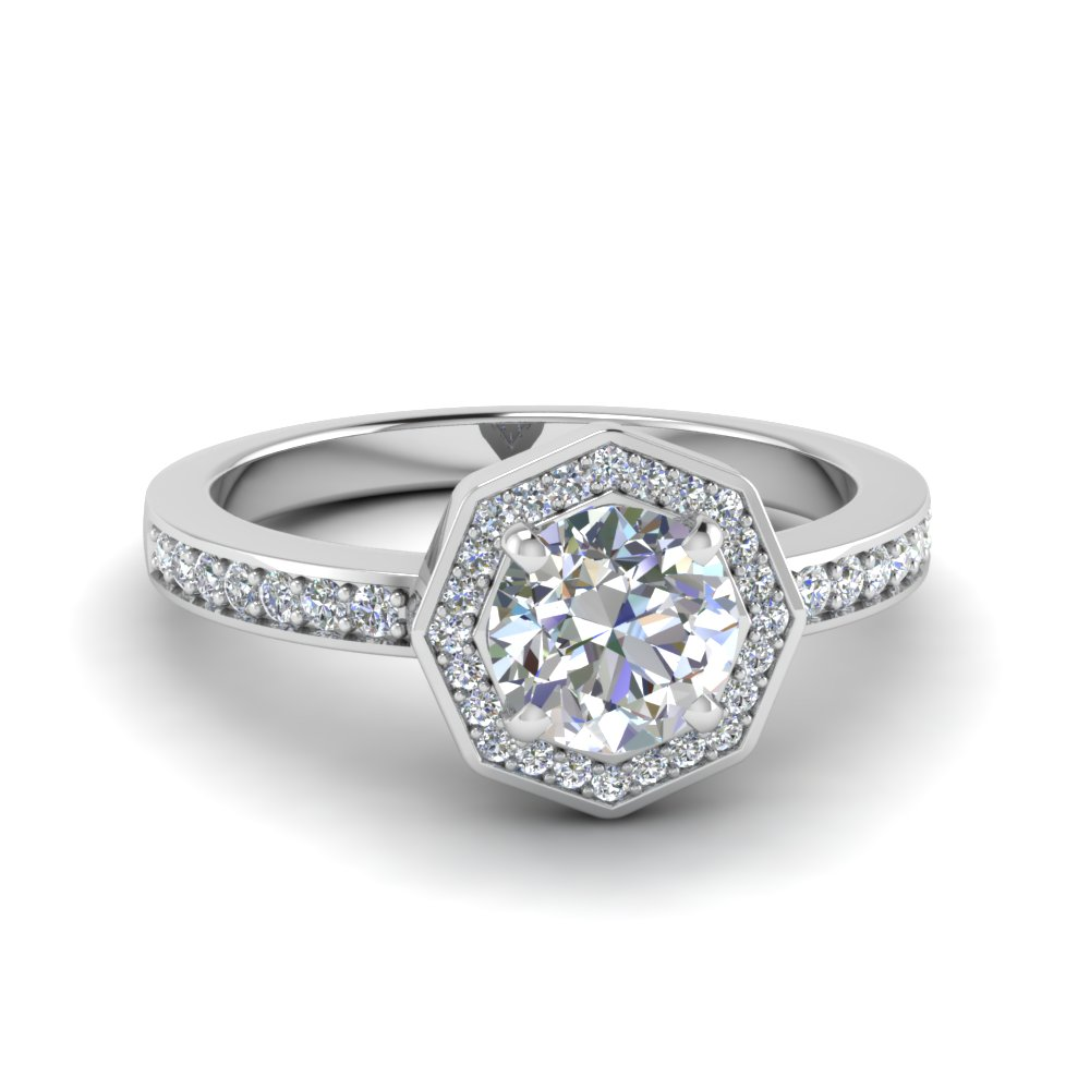 Pave Wedding Rings Alluring Pave Micropave Set Engagement Rings