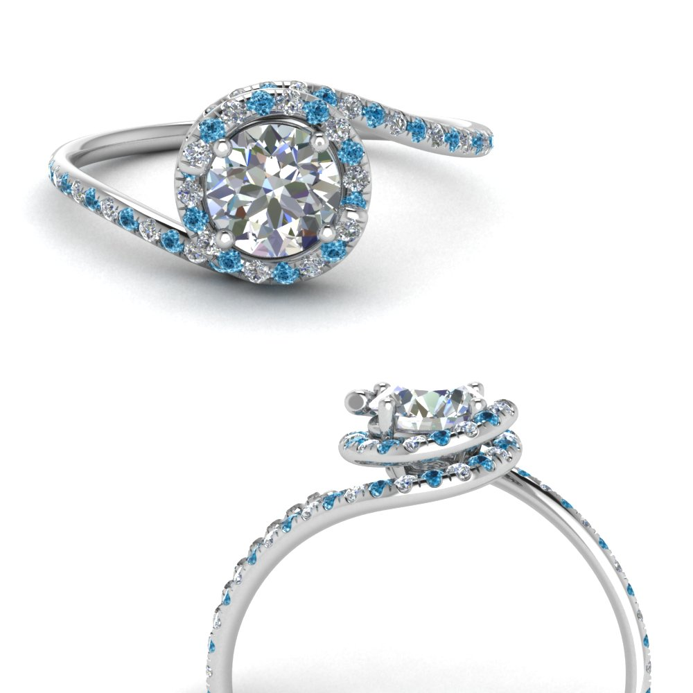 petite swirl halo diamond engagement ring with blue topaz in FDENS1295RORGICBLTOANGLE3 NL WG.jpg
