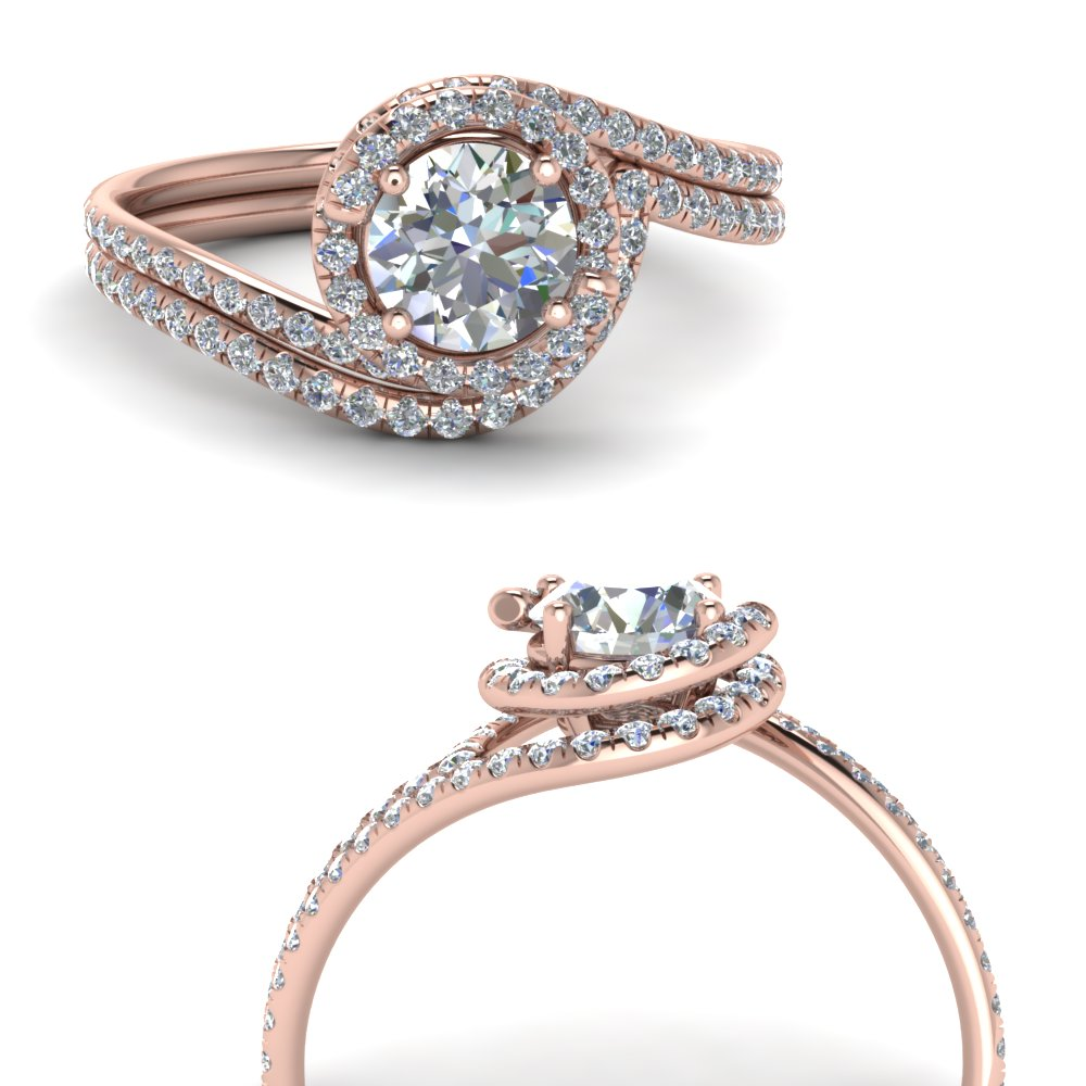 petite swirl halo diamond wedding set in FDENS1295ROANGLE3 NL RG.jpg