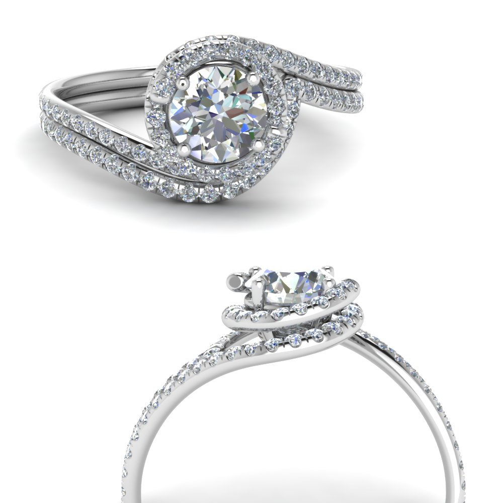 petite swirl halo diamond wedding set in FDENS1295ROANGLE3 NL WG.jpg