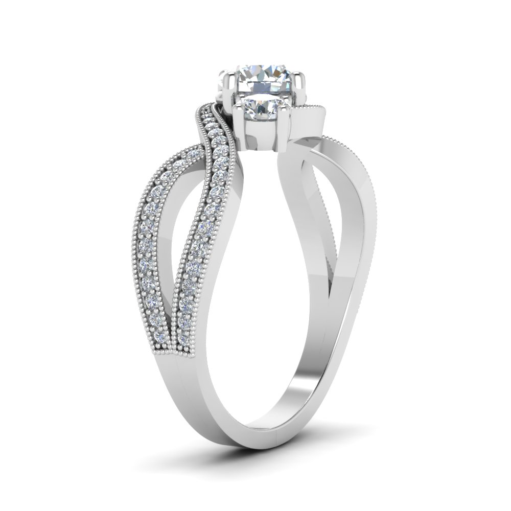 Best Selling Low Profile Engagement Rings