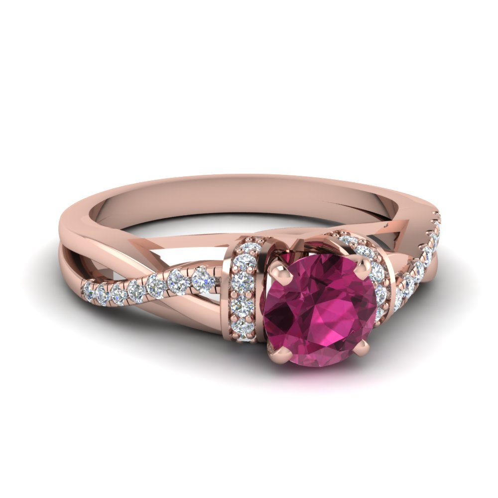 nl diamond pink round sapphire cut with engagement and colorful ring colored twist rg pave in gold jewelry rose