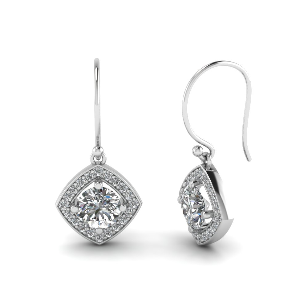 round-cut-white diamond-drop-earrings-with-white-diamond-in-14K-white-gold-FDEAR69709-NL-WG