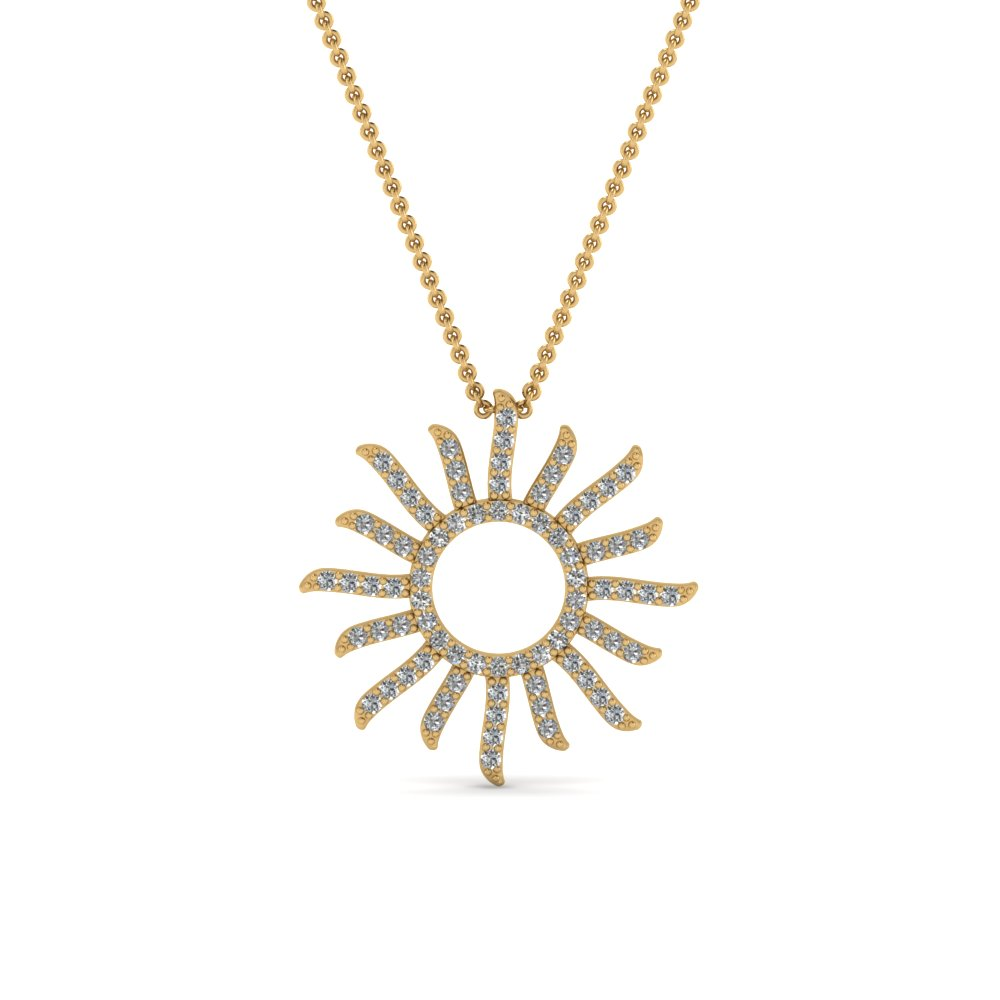 Sun Design Fancy Pendant