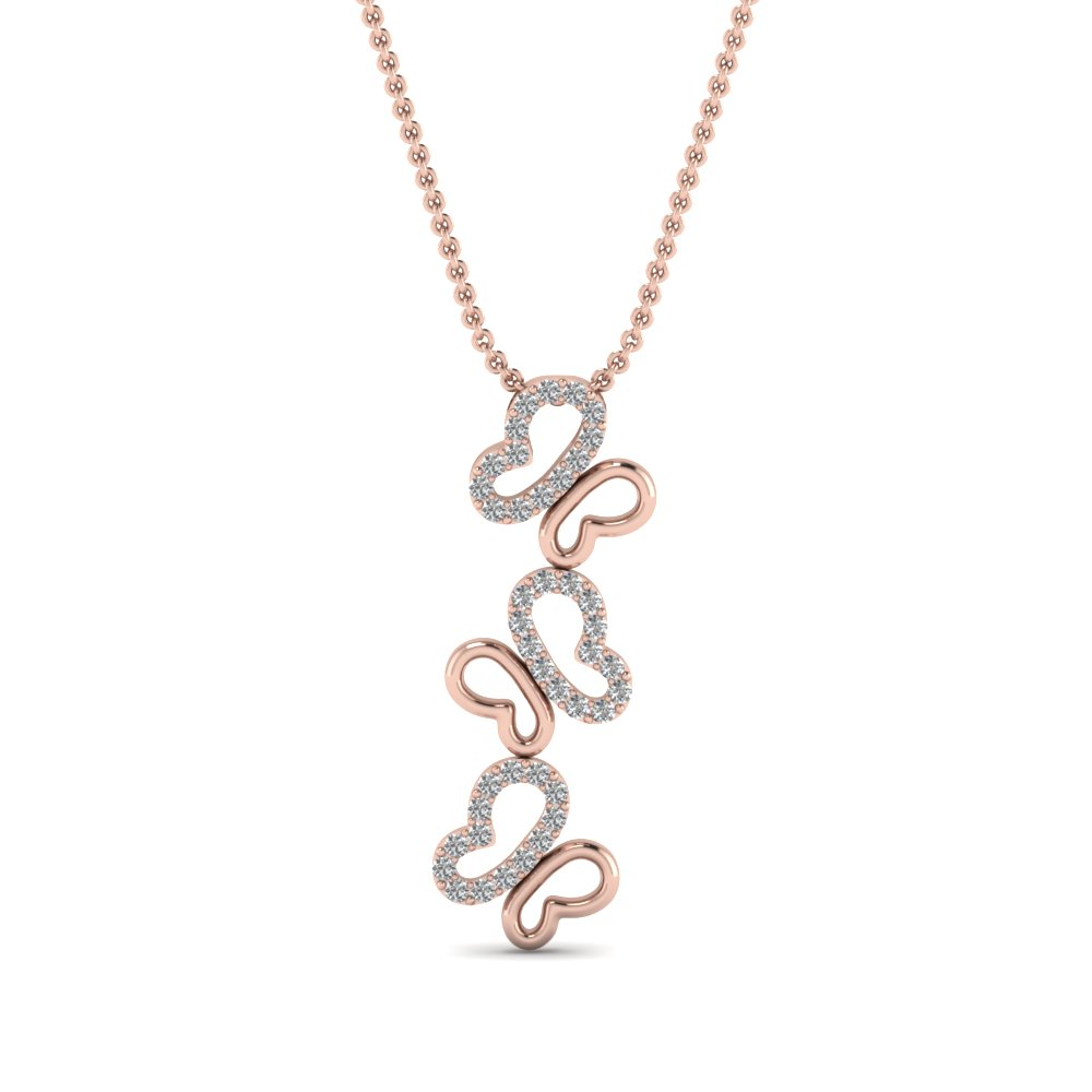 Rose Gold Fancy Pendant