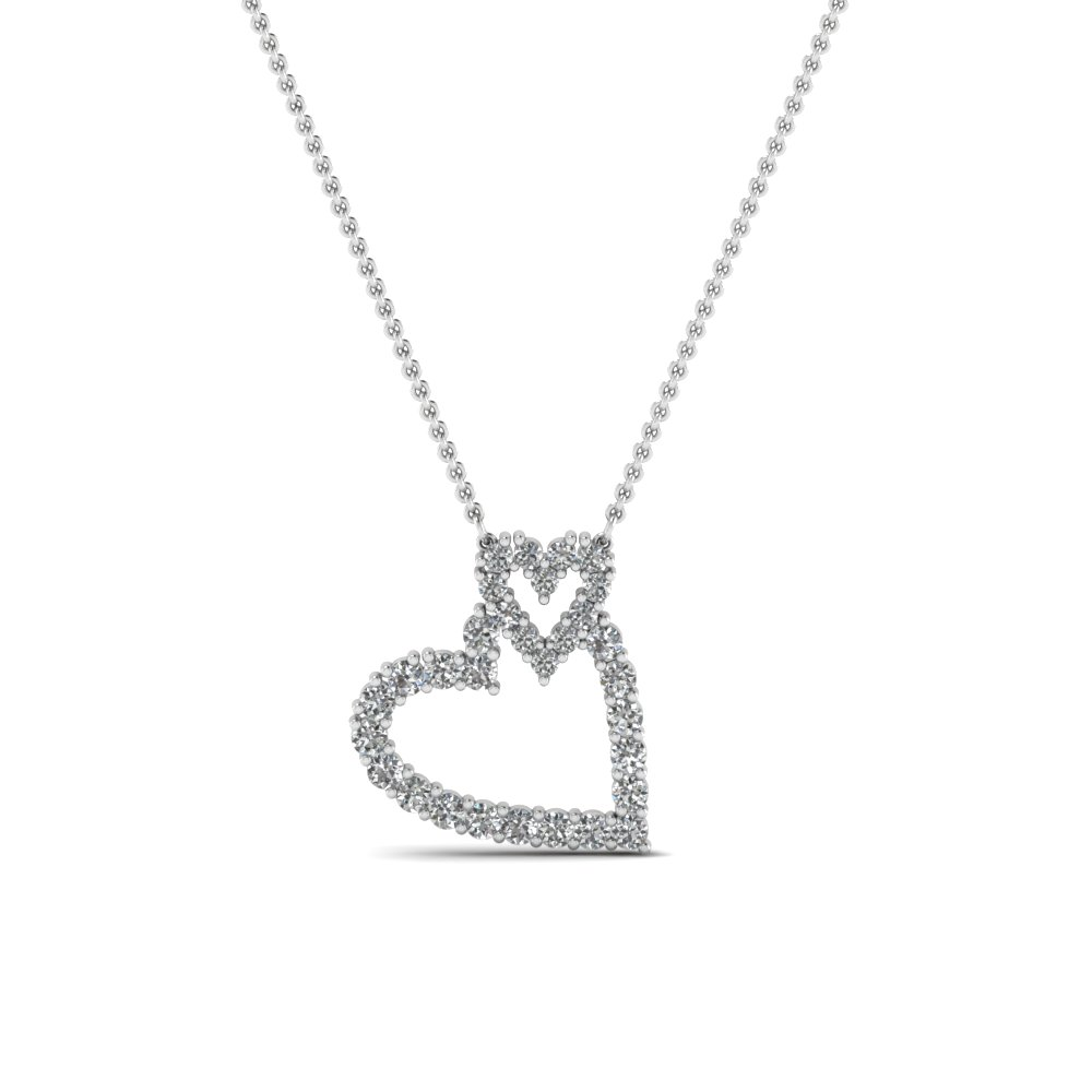 Cheap Diamond Pendant Necklace For Ladies