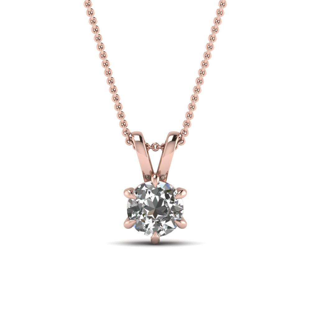 Shop Our Stunning 18k Rose Gold Pendants