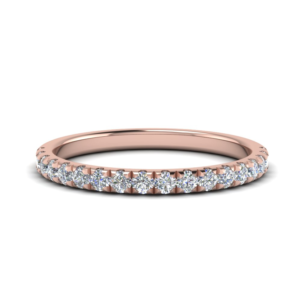 0.40 Carat Round Diamond Band