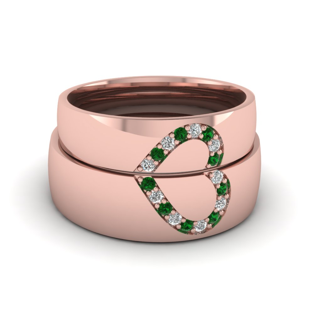 Buy Emerald Wedding Rings With Easy Financing | Fascinating Diamonds