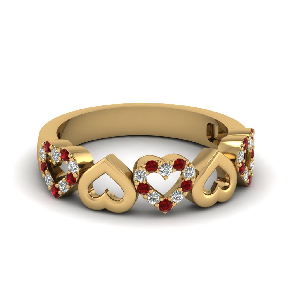 Heart Ruby Love Band