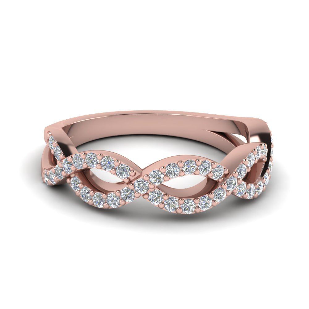 shane gold infinity rings p wedding m rose co round band in diamond anniversary