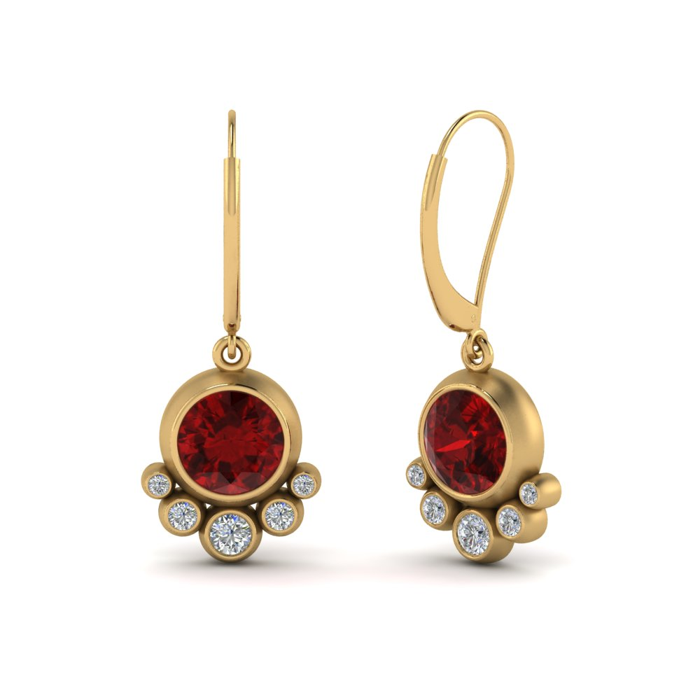 ruby-bezel-drop-leverback-diamond-earring-in-FDEAR9180GRUDRANGLE2-NL-YG-GS