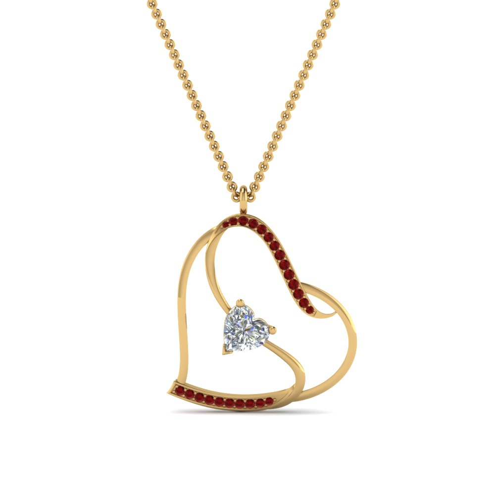 sparkle small yaf ruby boutique pendant jewelry