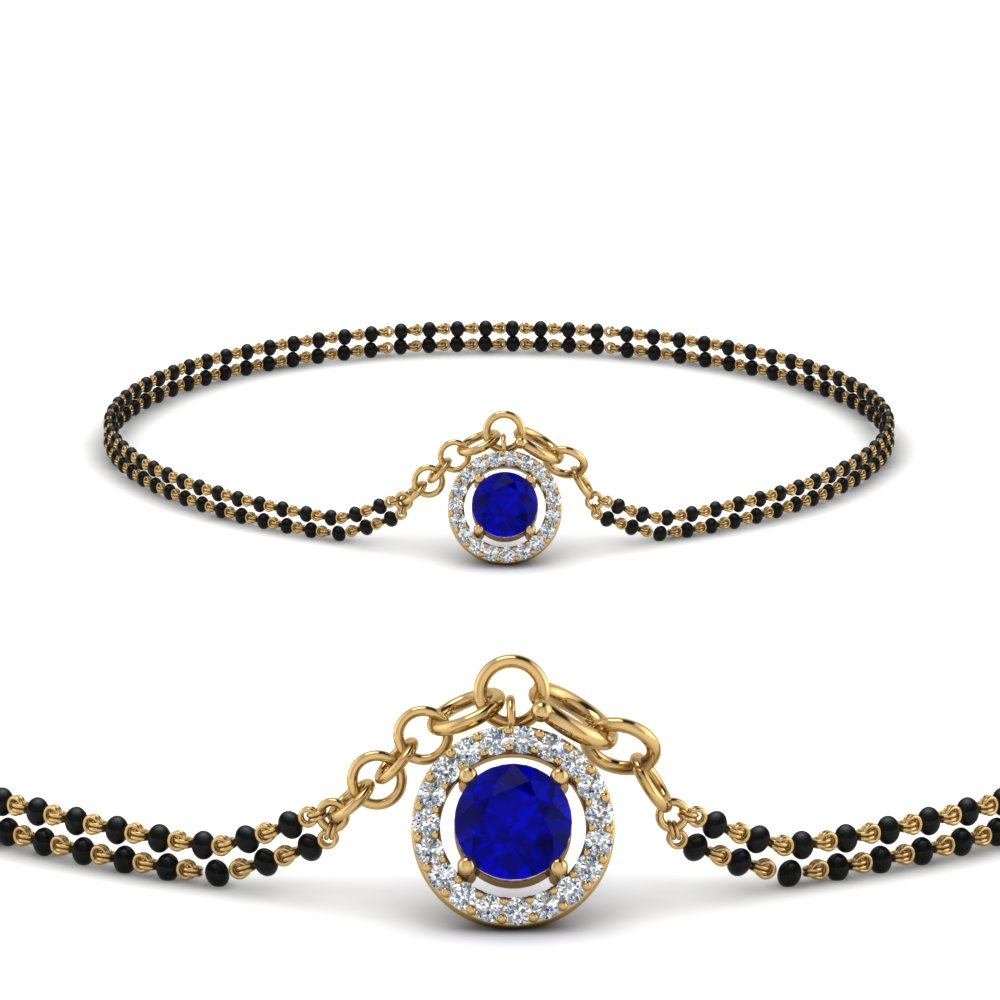 sapphire-halo-drop-mangalsutra-bracelet-in-MGSBRC8999GSABLANGLE1-NL-YG