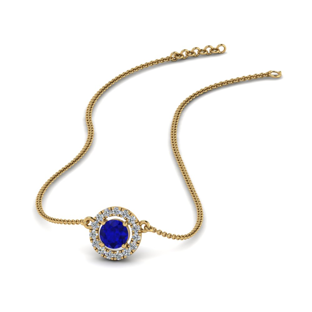 Necklaces For Women With Sapphire