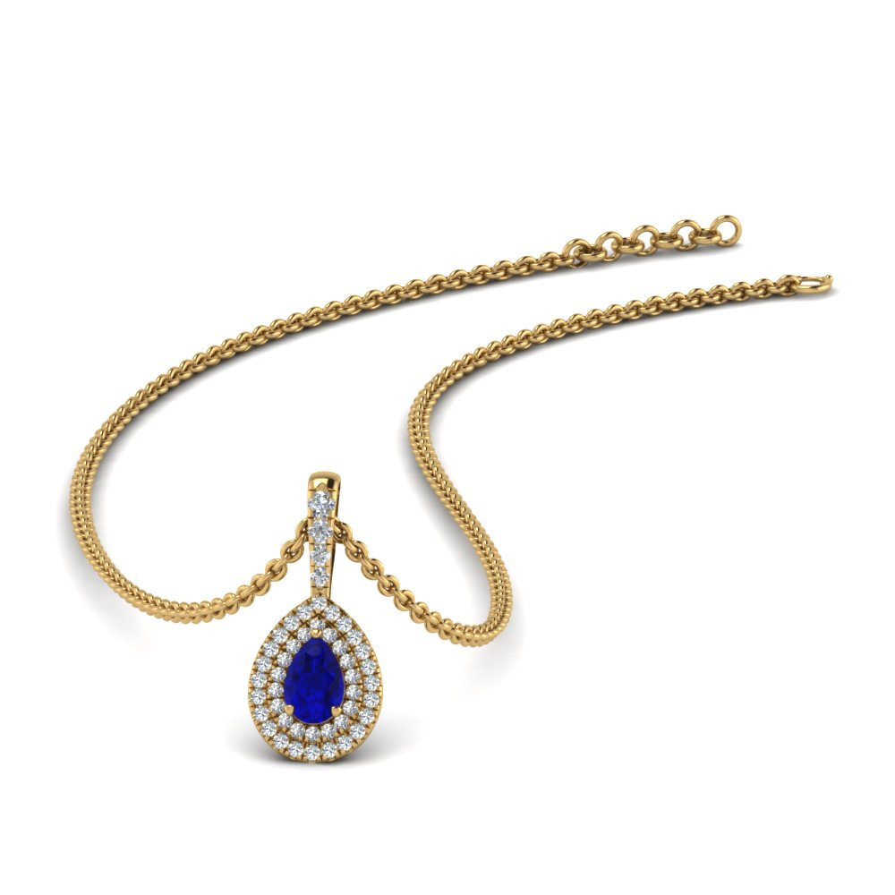 sapphire-pear-shaped-double-halo-diamond-pendant-in-FDPD86826PE(6.0X4.0MM)GSABL-NL-YG-GS
