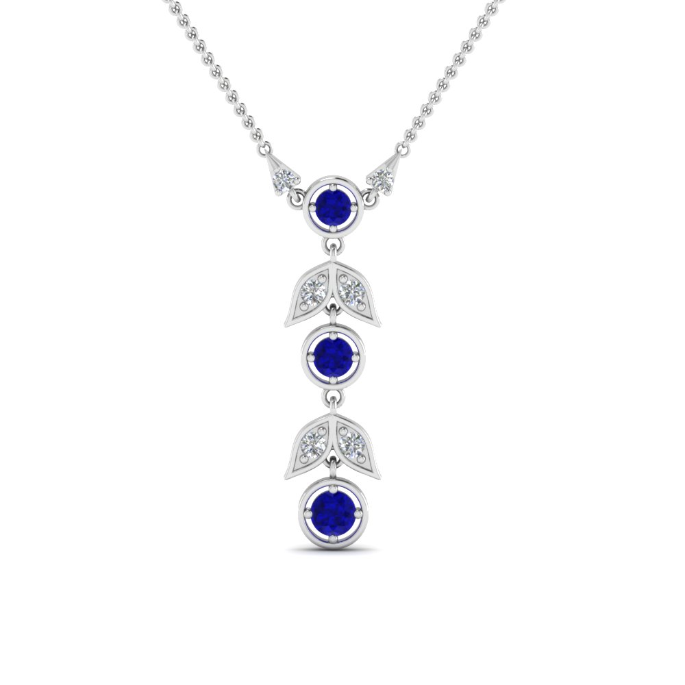 sapphire-petal-diamond-drop-necklace-in-FDPD8598GSABLANGLE2-NL-WG