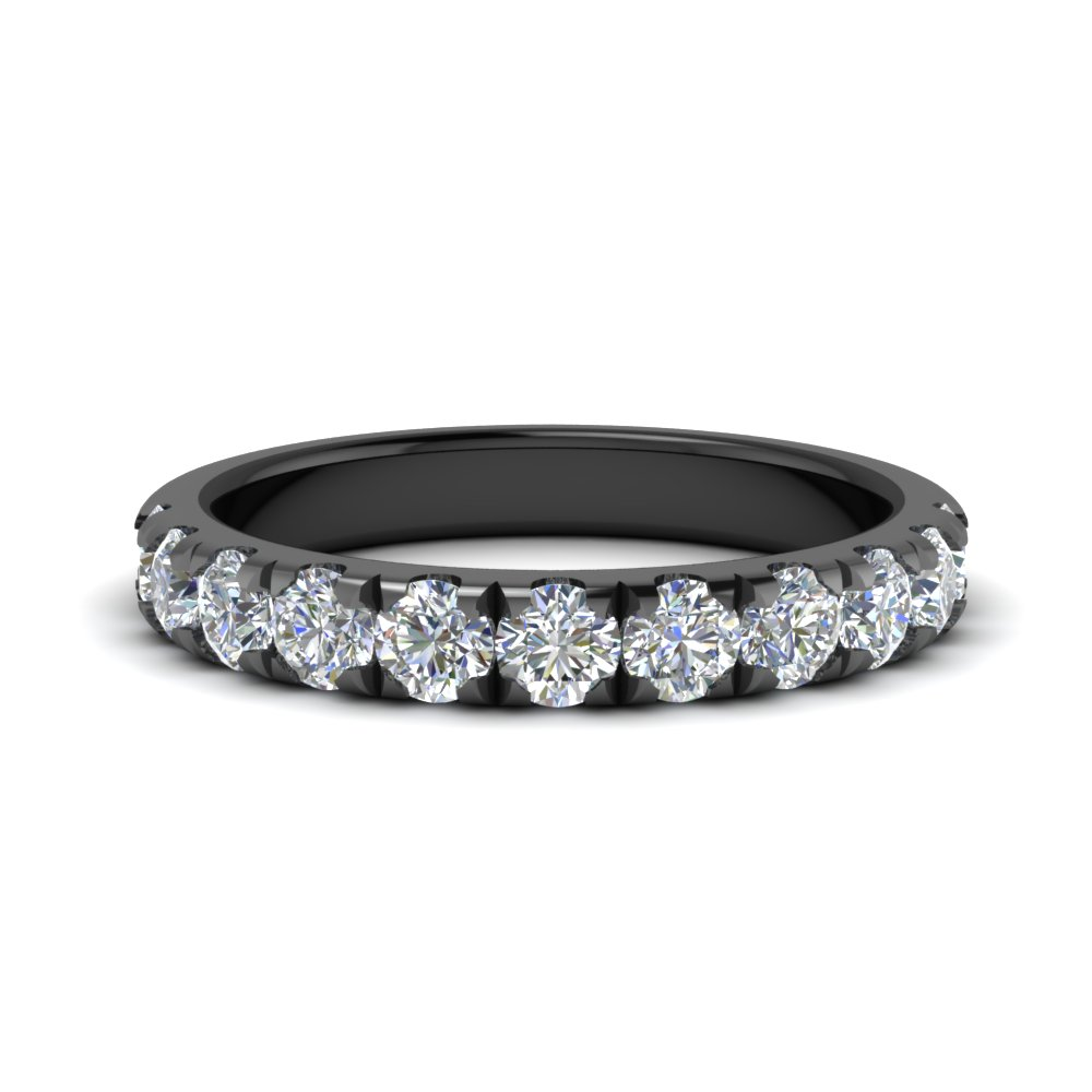scalloped 0.90 ct. diamond half eternity wedding band in FD123883RO(2.80MM) NL BG.jpg