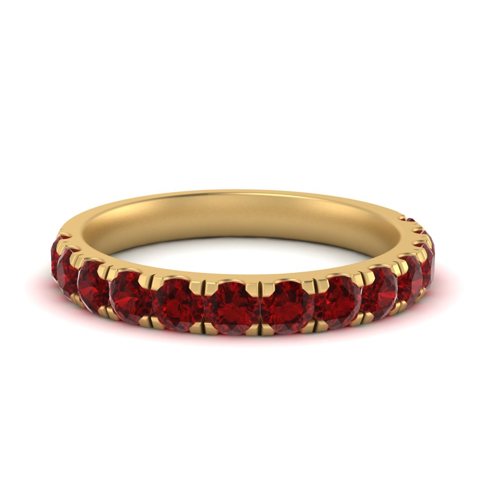 scalloped-ruby-wedding-ring-in-FD9331(1.0CT)GRUDR-NL-YG-GS