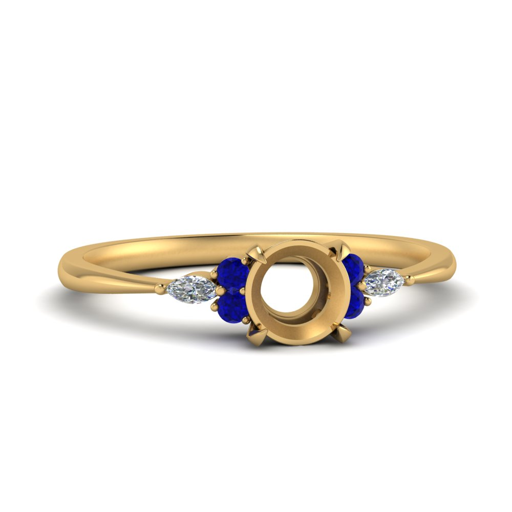 semi-mount-accented-marquise-and-round-diamond-ring-with-sapphire-in-FD9288SMRGSABL-NL-YG