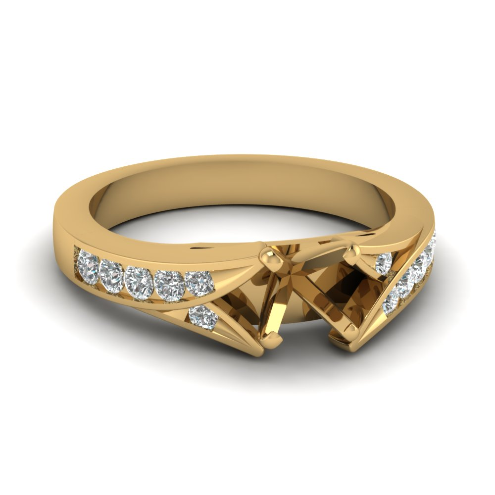 Split Shank Engagement Ring Settings