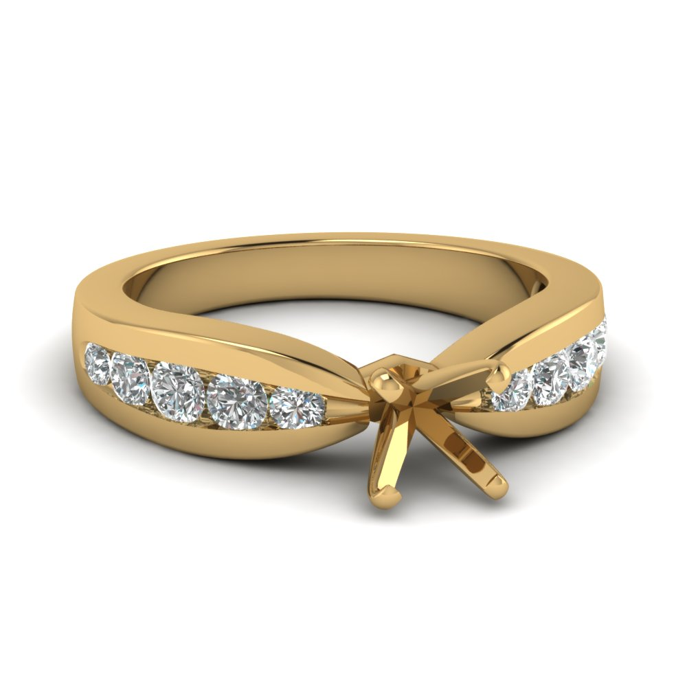 Gold Engagement Rings Without Stones