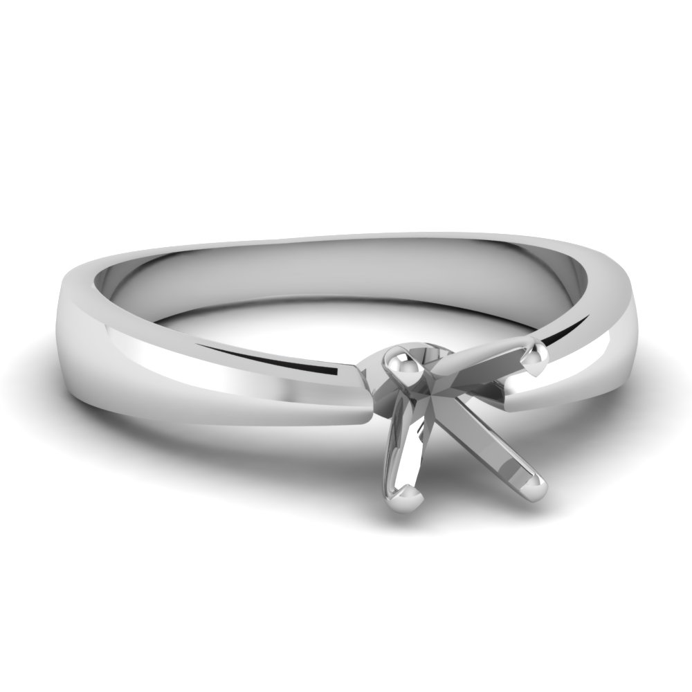 Solitaire Ring Without Stone