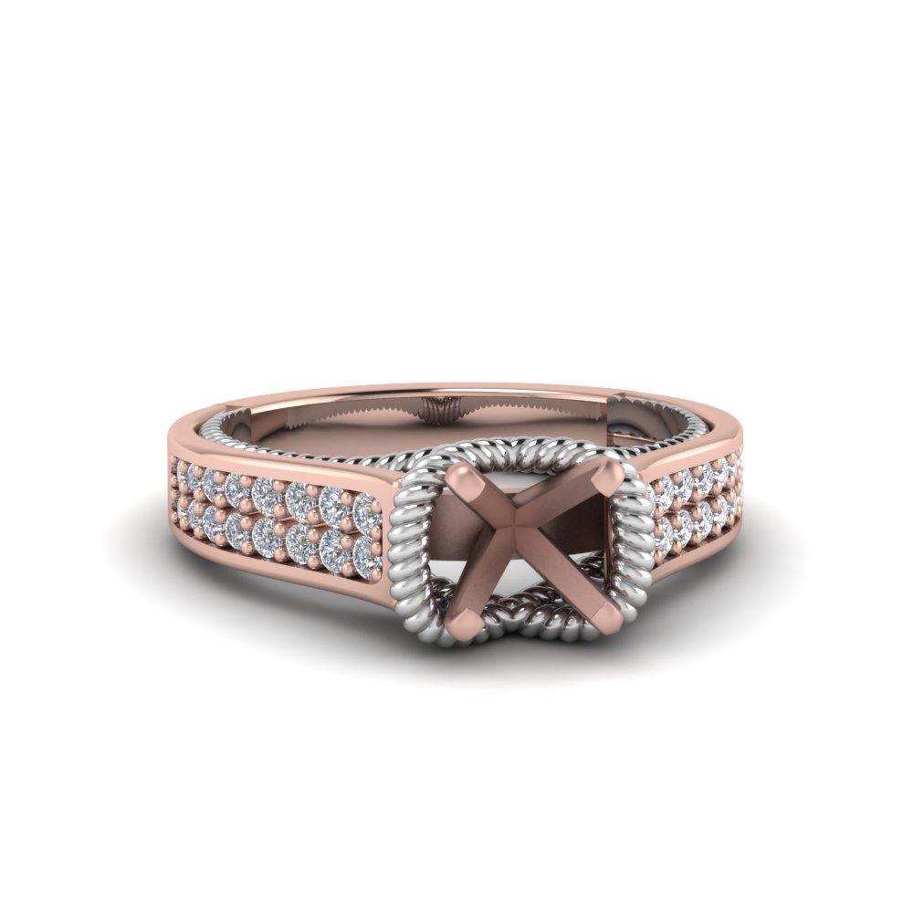 Multi Row 2 Tone Ring Setting