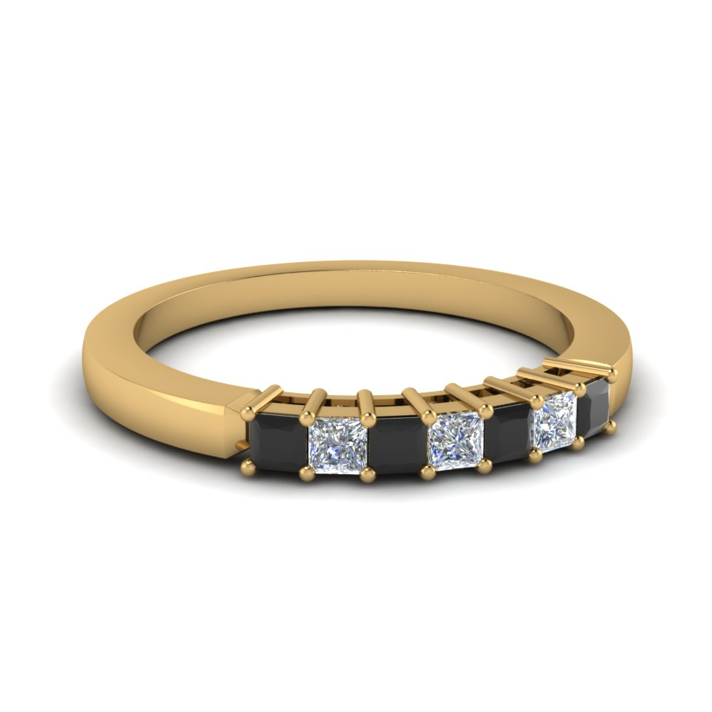 Beautiful Black Diamond Band