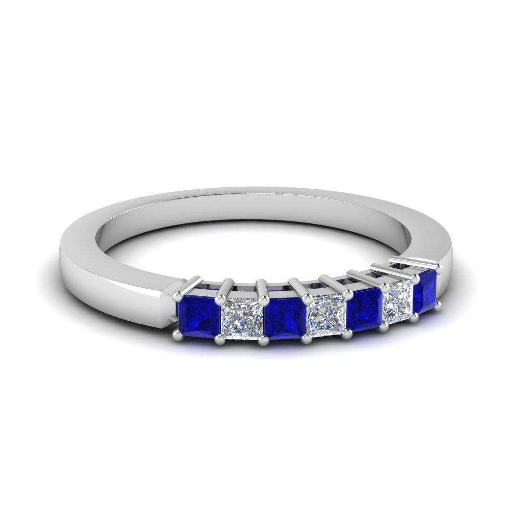 Sapphire Women Wedding Band