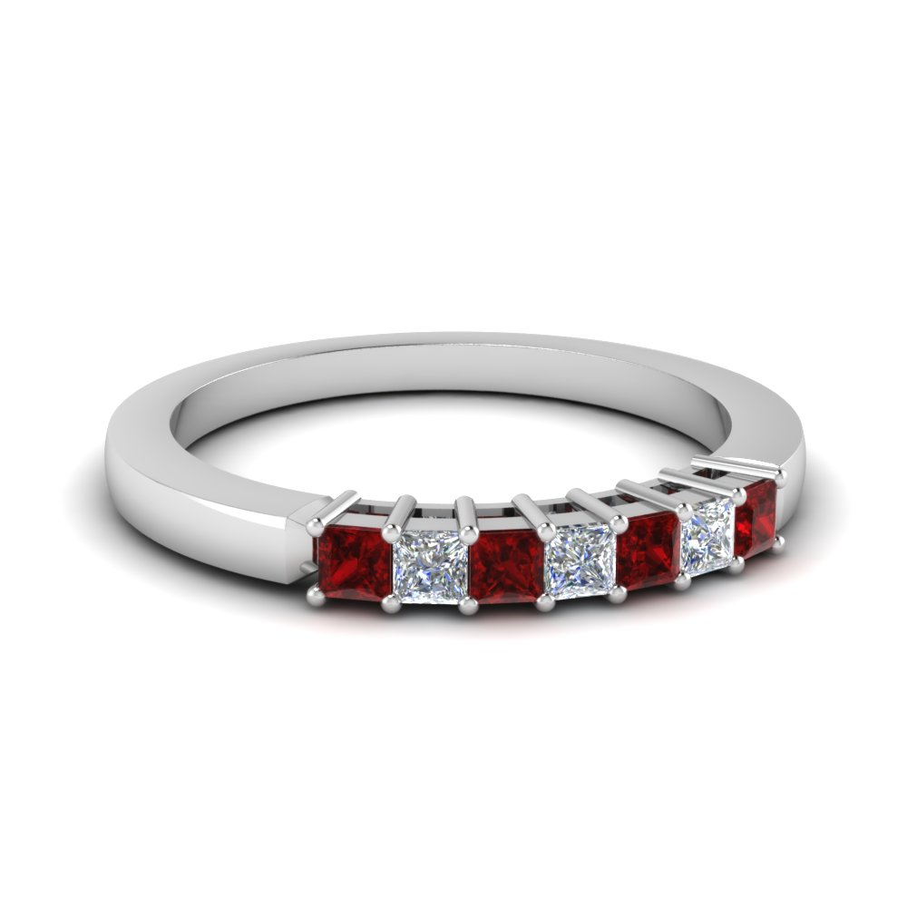 Classic Basket Prong Diamond Band