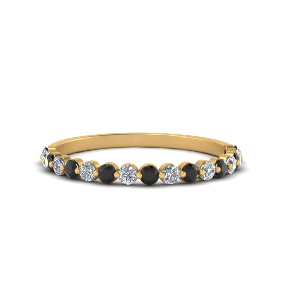 shared-pong-half-eternity-band-with-black-diamond-in-FDENS3023BGBLACK-NL-YG