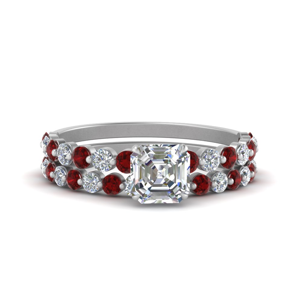 shared-prong-asscher-engagement-and-wedding-ring-set-with-ruby-in-FDENS3023ASGRUDR-NL-WG.jpg