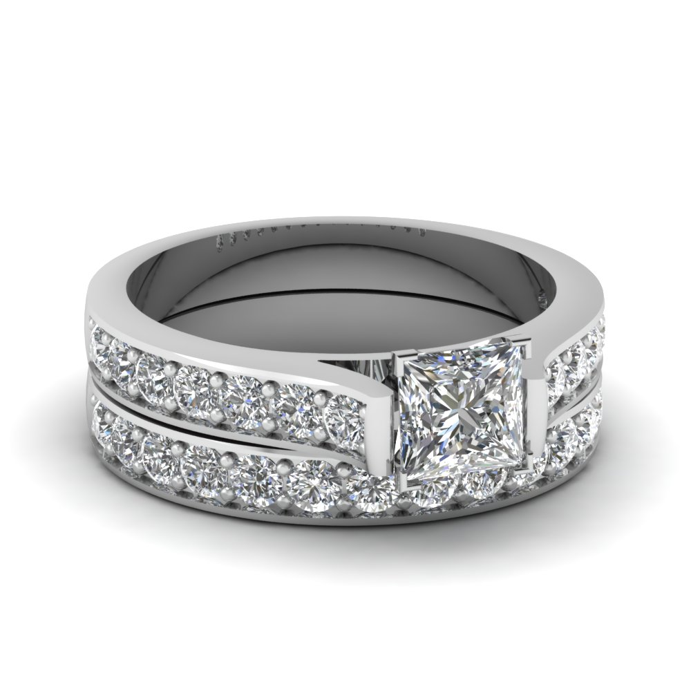 product ring glacier crescent tw diamonds band carat gold anniversary bands ct fire