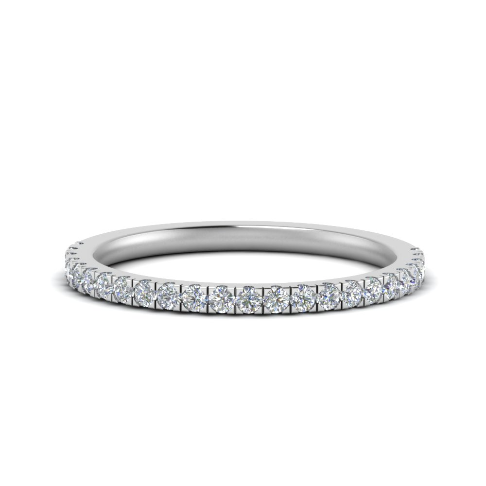 simple matching diamond wedding band in FD9128B1 NL WG.jpg