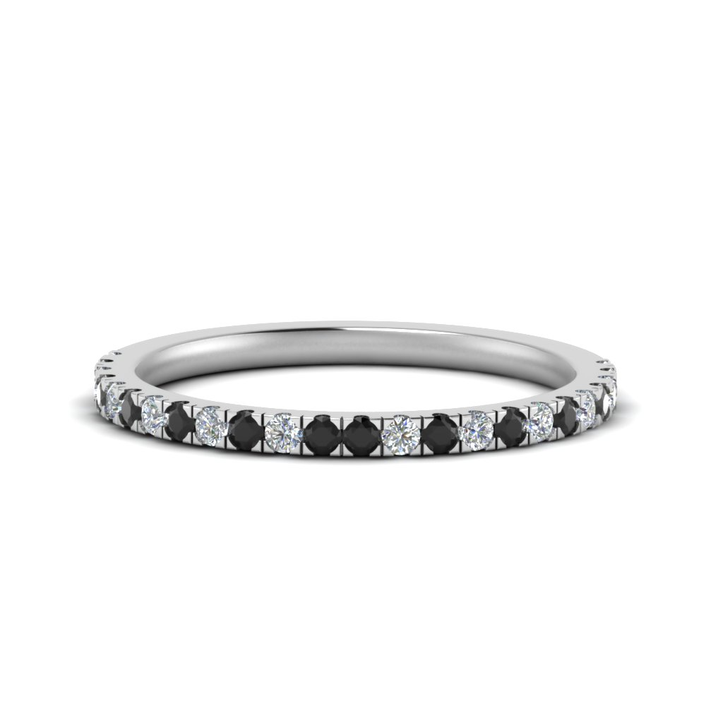 simple matching wedding band with black diamond in FD9128B1GBLACK NL WG.jpg