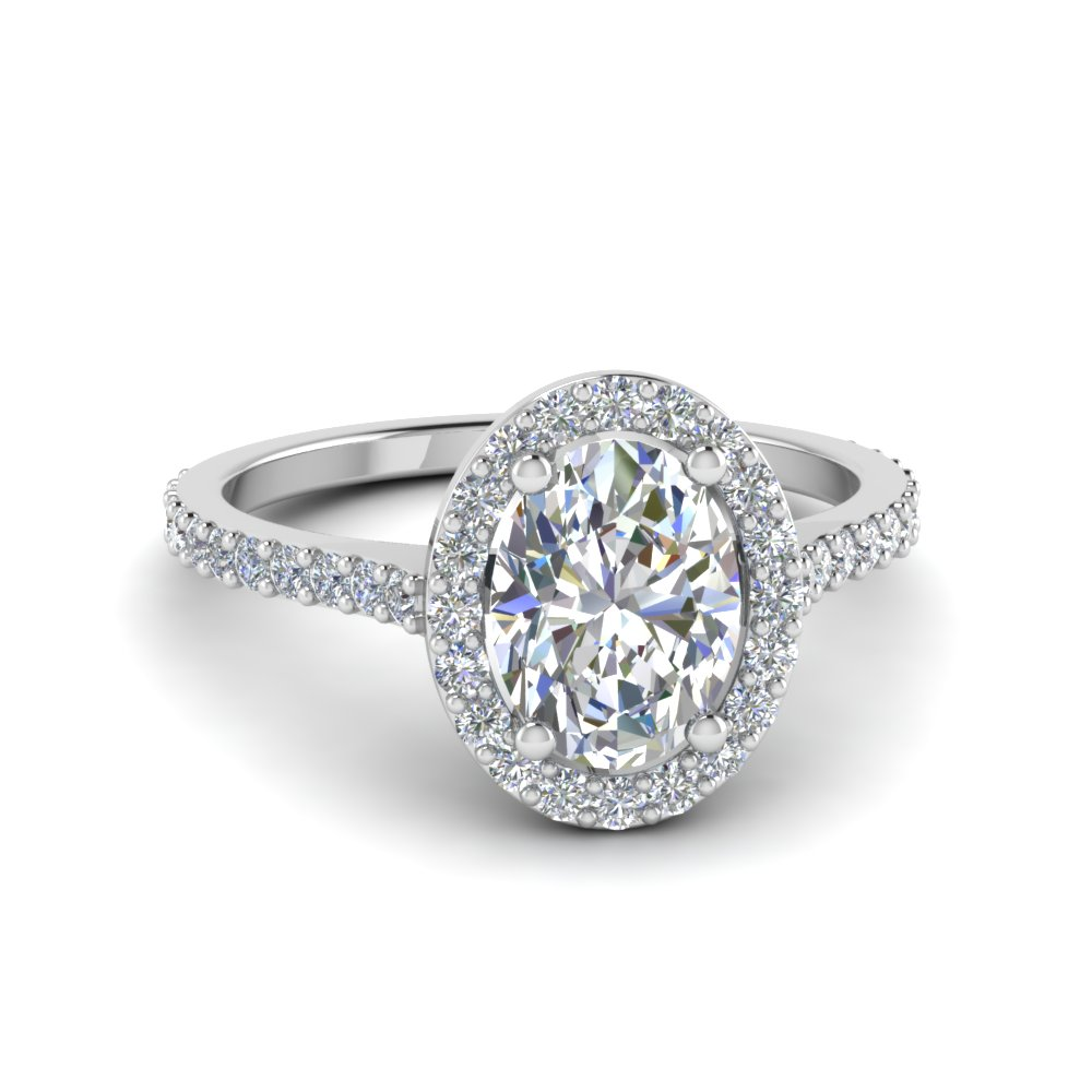 Affordable Halo Engagement Rings