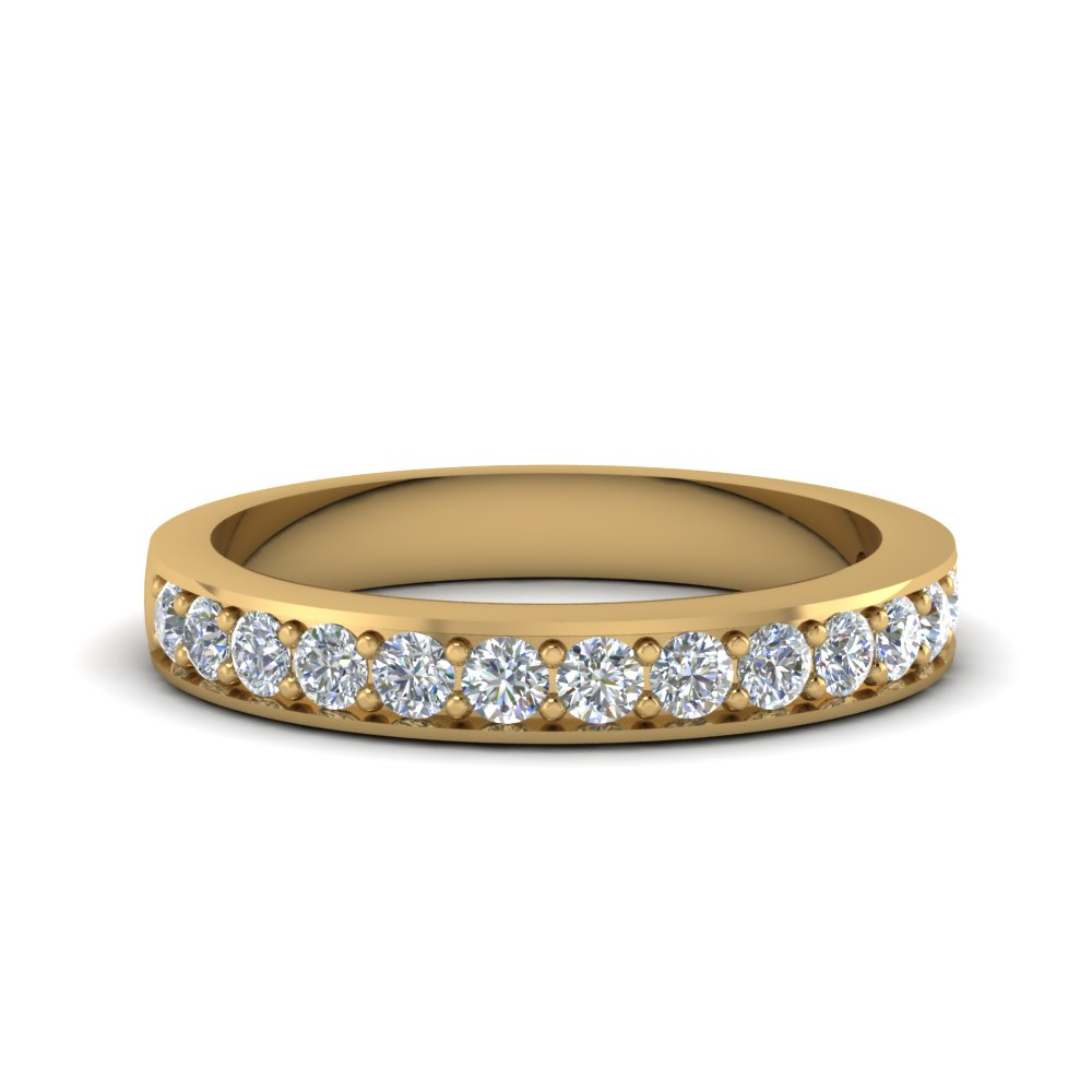 Simple Pave Diamond Band