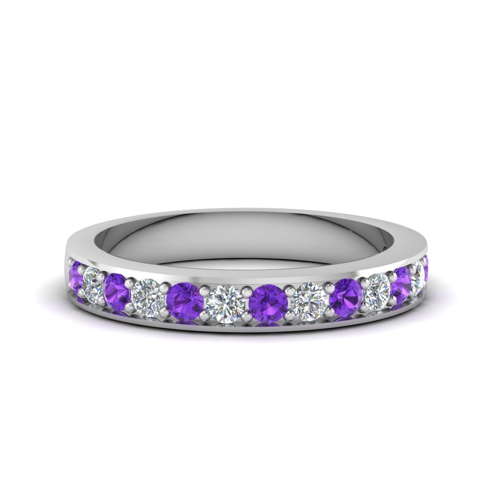 simple pave diamond band with purple topaz in FDENS1102BGVITO NL WG.jpg