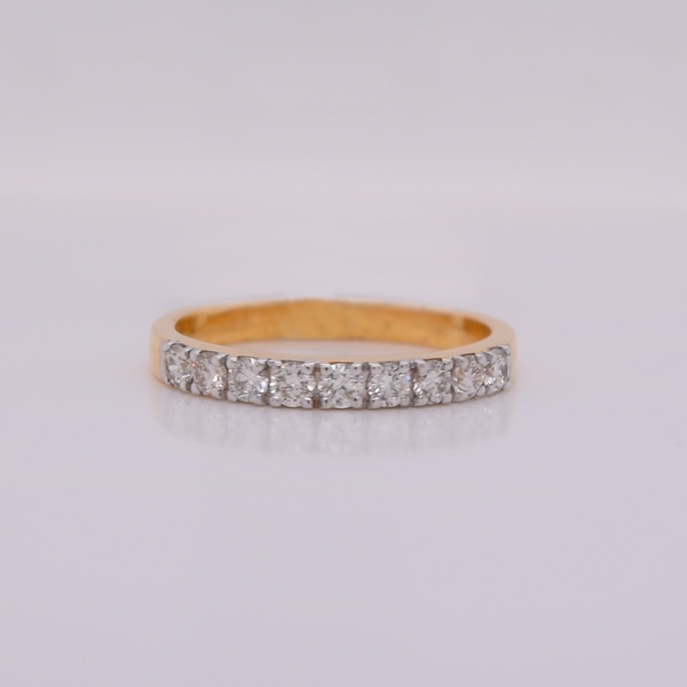 simple-Yellow-gold-pave-diamond-wedding-band-in-FDDR1032-NL-YG