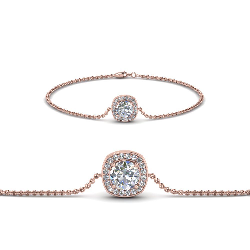 single tw bracelet gold ct round braceletsection white diamond detail