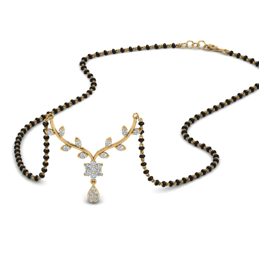 small-leaf-diamond-mangalsutra-necklace-in-MGS9032-NL-YG