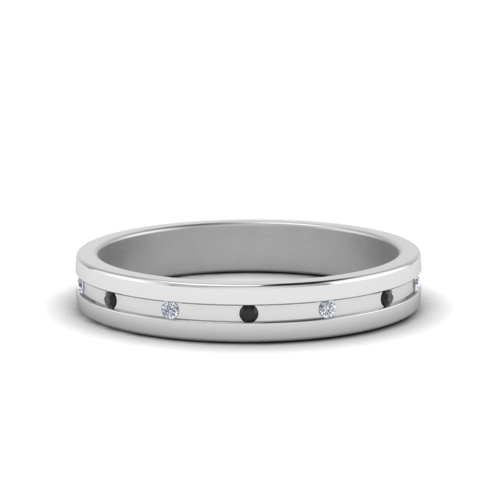 Small Mens Diamond Anniversary Band