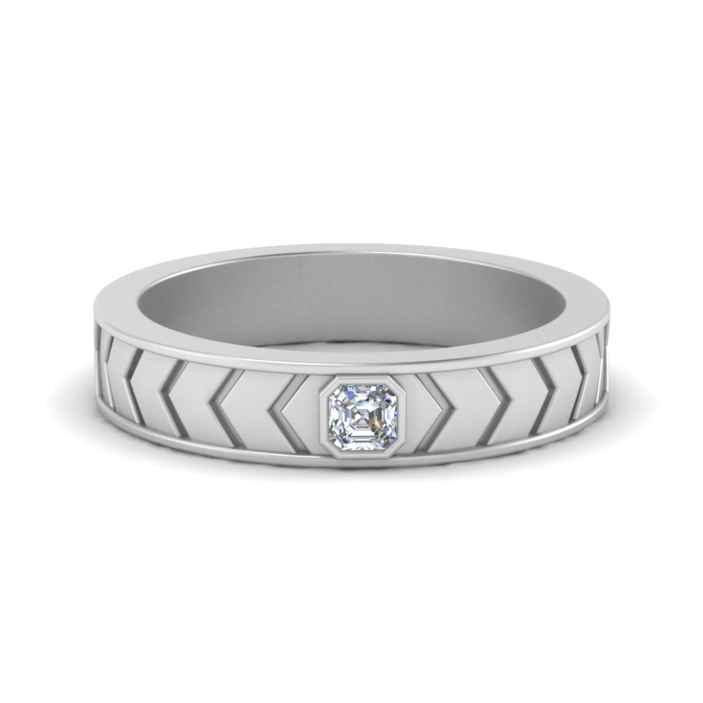 solitaire-asscher-cut-wedding-ring-for-men-in-FDM124275AS-NL-WG