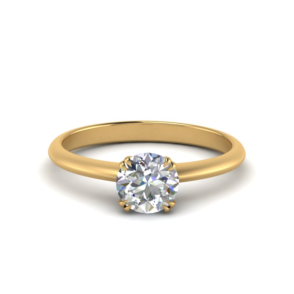 solitaire-tapered-round-cut-diamond-engagement-ring-in-FD9239ROR-NL-YG
