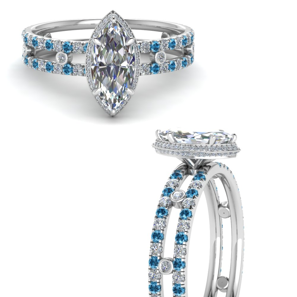 split-band-hidden-marquise-halo-diamond-engagement-ring-with-blue-topaz-in-FD9171MQRGICBLTOANGLE3-NL-WG